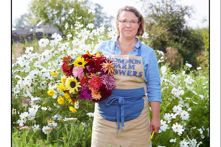 Georgie Newbery - talking on growing cut flowers for your home