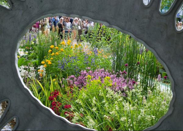 The Forever Freefolk Garden designed by Roy Hardy at RHS Chelsea 2016